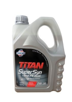 Fuchs Titan SuperSyn Longlife Plus SAE 0W-30