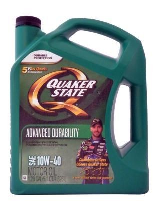 Quaker State Advanced Durability Motor Oil SAE 10W-40