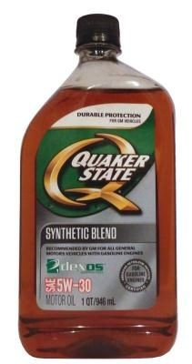 Quaker State 5W-30 Synthetic Blend Motor Oil